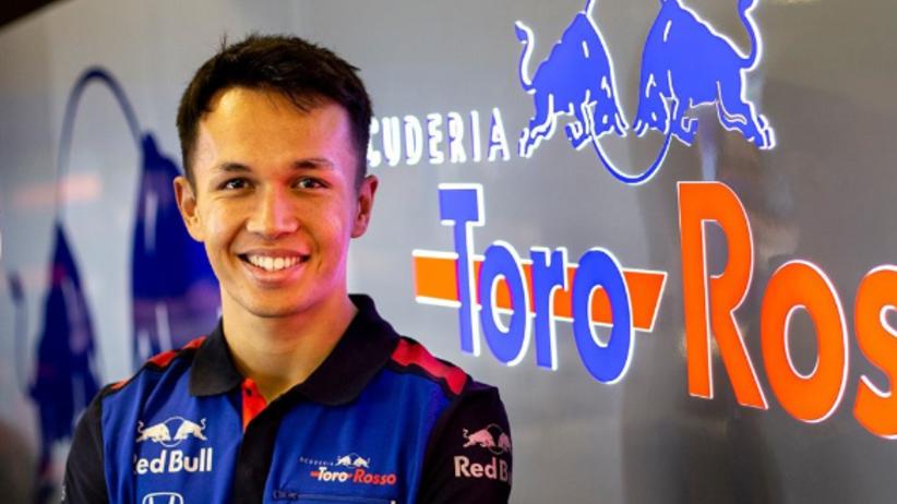 Alexander Albon kierowca Formuły 1