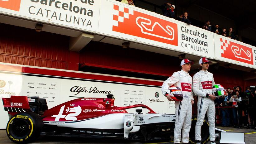 Alfa Romeo Racing F1 zespół Formuły 1