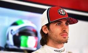 Antonio Giovinazzi kierowca Formuły 1