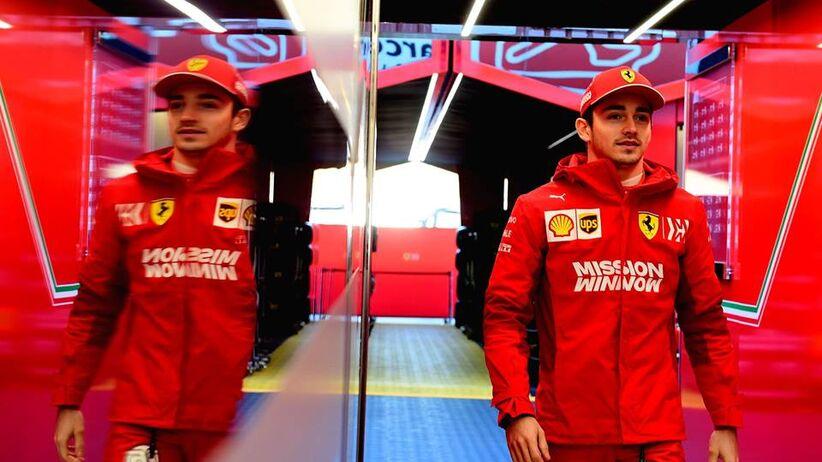 Charles Leclerc kierowca Formuły 1