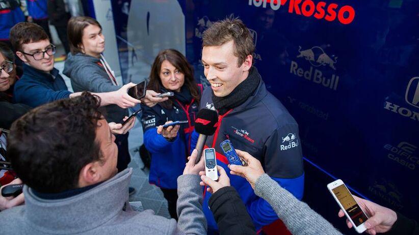 Daniil Kvyat kierowca Formuły 1