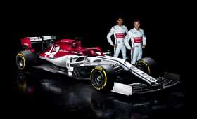 Nowy bolid Alfy Romeo