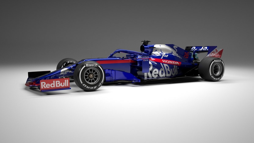 Bolid Toro Rosso na sezon 2019