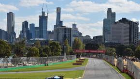 Robert Kubica na treningu w GP Australii