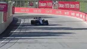 Nicholas Latifi prawie przejechał świstaka na treningu przed GP Kanady