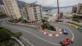 Robert Kubica na treningu w GP Monako