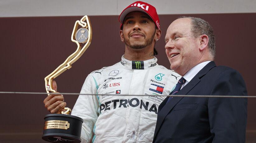 Lewis Hamilton wygrał GP Monako