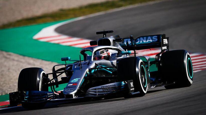 Mercedes F1 zespół Formuły 1