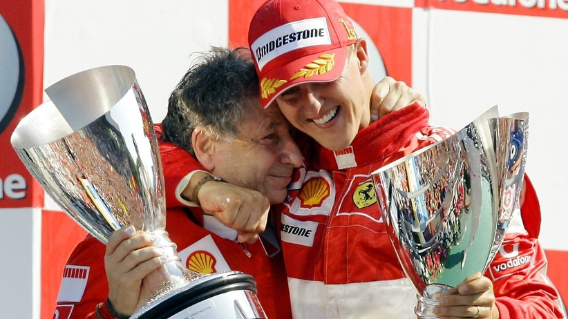 Jean Todt i Michael Schumacher