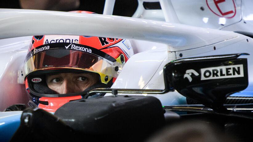 Robert Kubica na testach F1 w Barcelonie