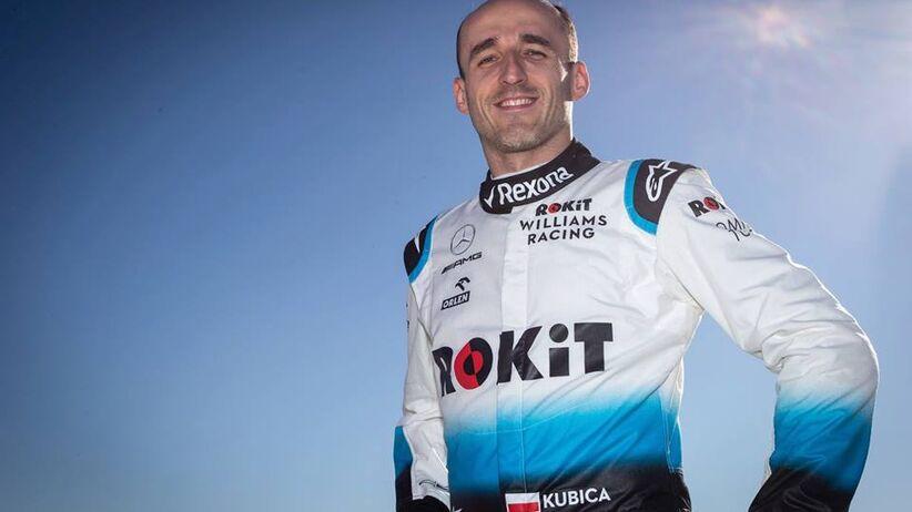 Robert Kubica kierowca Formuły 1