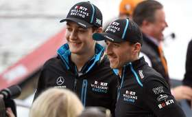 Robert Kubica i George Russell