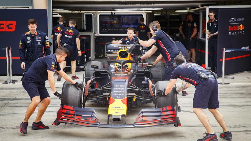 Max Verstappen najszybszy podczas testów F1 w Bahrajnie