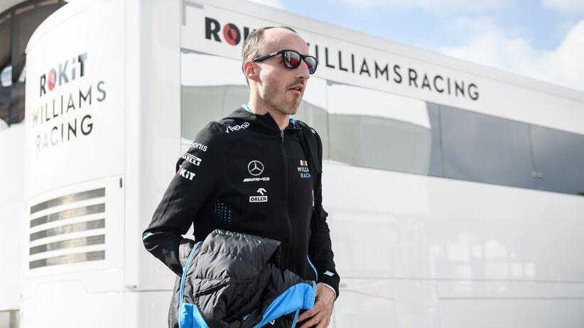 Bolid Williamsa dotarł do Barcelony
