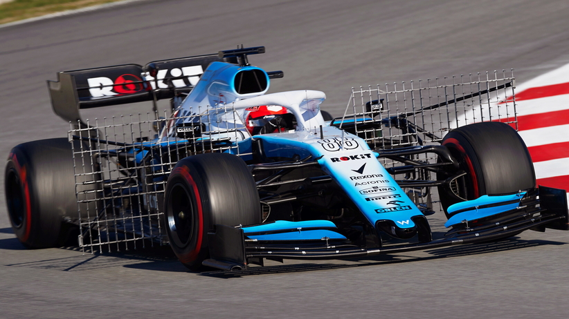 Robert Kubica testuje bolid Williamsa