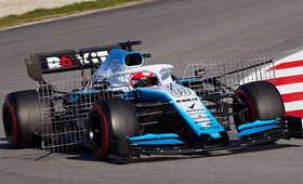Robert Kubica testuje bolid Williamsa