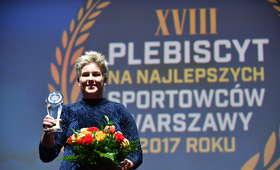 Anita Włodarczyk najlepszym sportowcem Warszawy