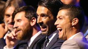 Messi, Buffon, Ronaldo