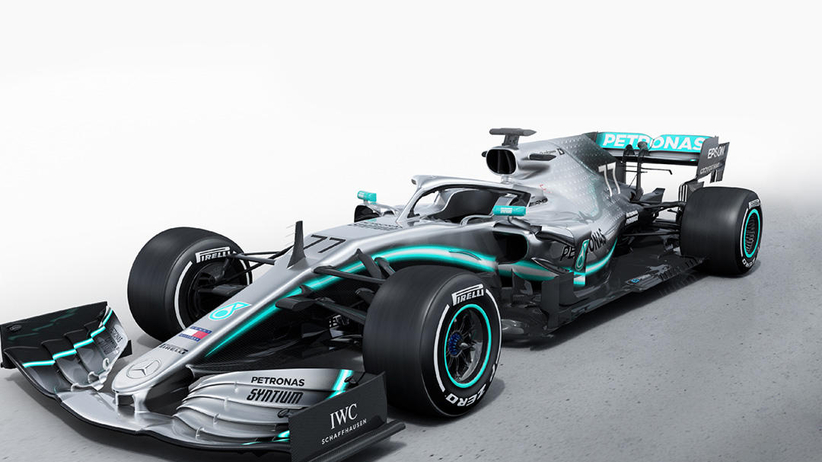 Nowy bolid Mercedesa