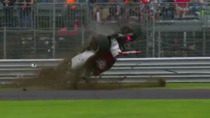 Wypadek Marcusa Ericssona
