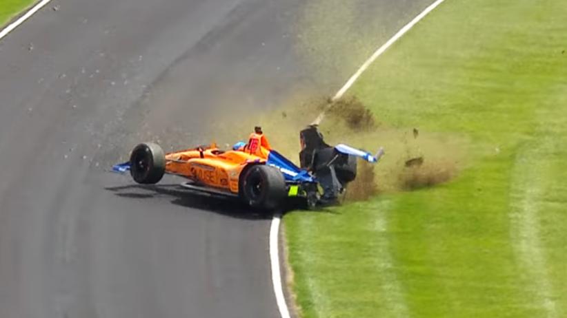 wypadek Fernando Alonso