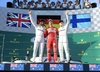 Podium Grand Prix Australii