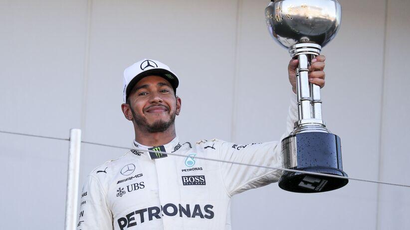 Formuła 1: Lewis Hamilton wygrał Grand Prix Japonii