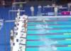 Hiszpański pływak uczcił ofiary zamachu w Barcelonie wbrew federacji [WIDEO]