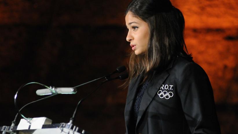 Uciekła z Syrii i wystartowała na olimpiadzie. Została ambasador dobrej woli