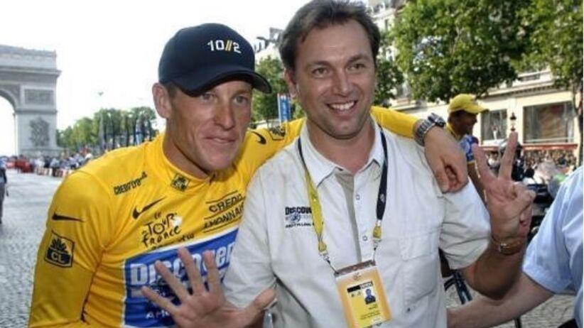 Johan Bruyneel i Lance Armstrong