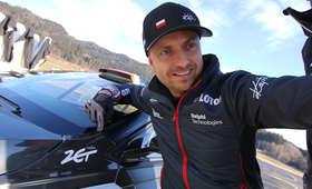 Kajetan Kajetanowicz na testach w Austrii przed sezonem WRC2