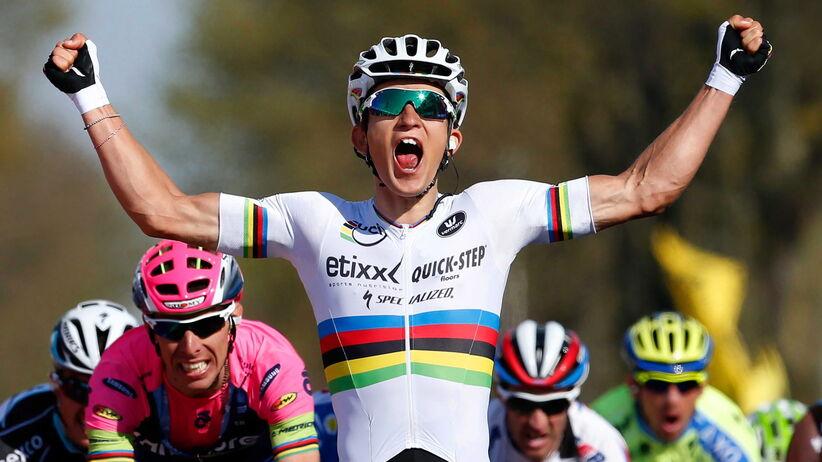 Dookoła Algarve: Michał Kwiatkowski wygrał drugi etap
