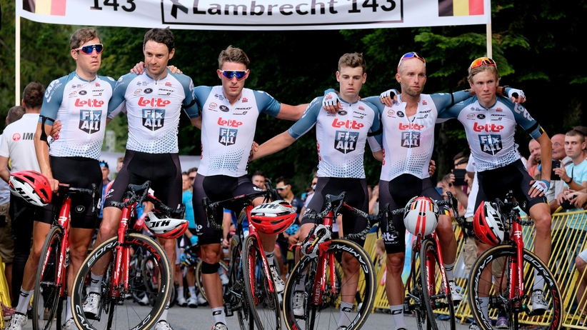 Grupa Lotto Soudal jedzie dalej w Tour de Pologne