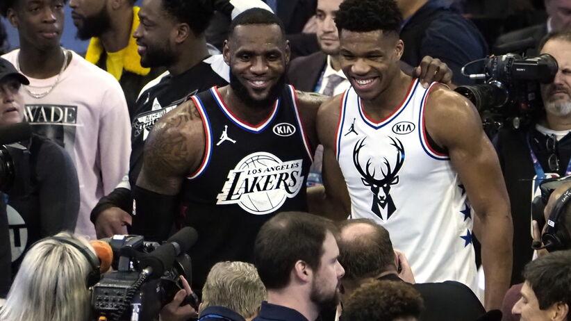 68. Mecz Gwiazd NBA dla drużyny LeBrona Jamesa