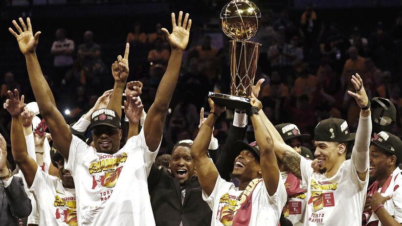 Toronto Raptors mistrzami ligi NBA, historyczny wyczyn zespołu
