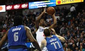 Marcin Gortat bez punktów w meczu Clippers - Mavericks