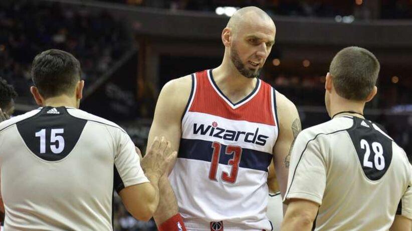 NBA: niewielki wkład Gortata w wygraną Wizards