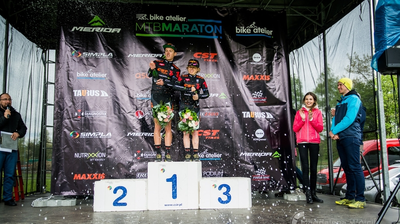 Podwójne zwycięstwo CST 7R MTB Team w Bike Atelier