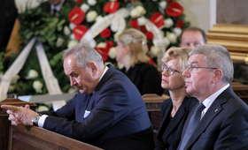 Thomas Bach na pogrzebie Ireny Szewińskiej