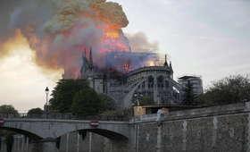 Pożar katedry Notre Dame poruszył sportowców