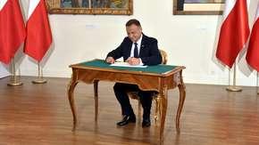 Andrzej Duda podpisał ustawę o zwalczaniu dopingu w sporcie