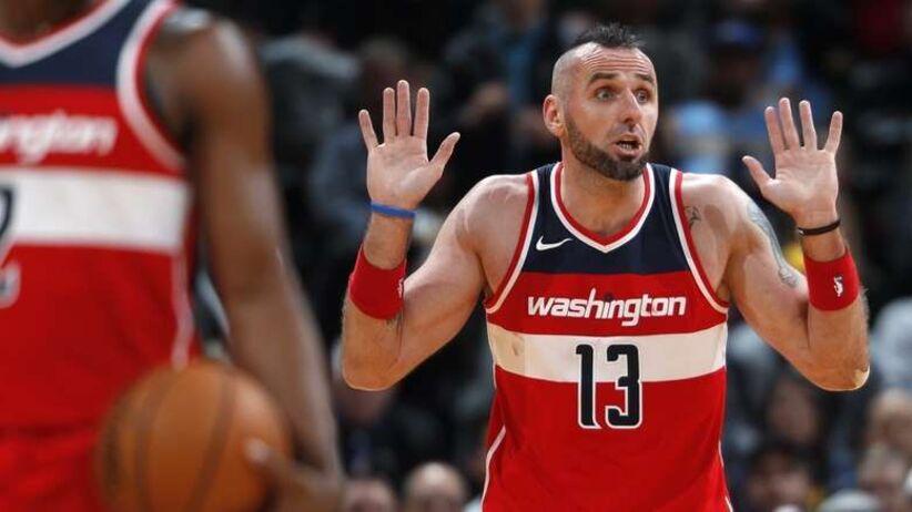 NBA: siedem punktów Gortata, wysoka porażka Wizards