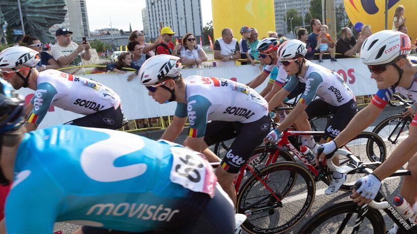 kolarze na Tour de Pologne