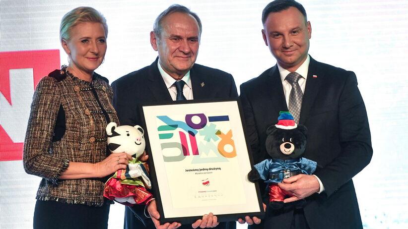 Prezydent do olimpijczyków: moim obowiązkiem jest wam podziękować