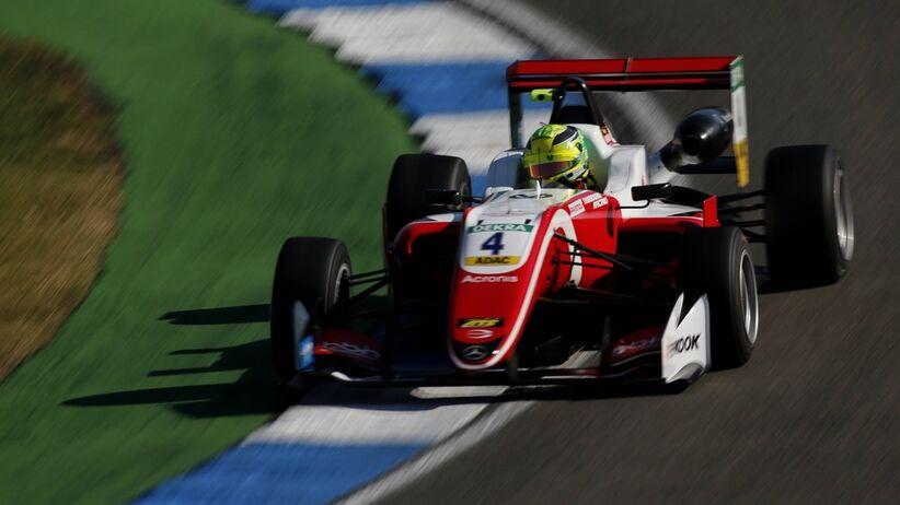 Mick Schumacher mistrze Europy Formuły 3