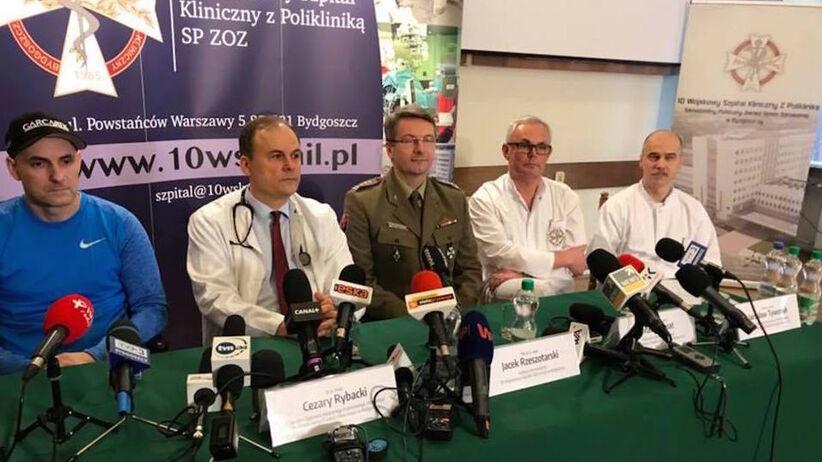 Pierwsza konferencja Tomasza Golloba po wypadku: Mam nadzieję, że będzie lepiej