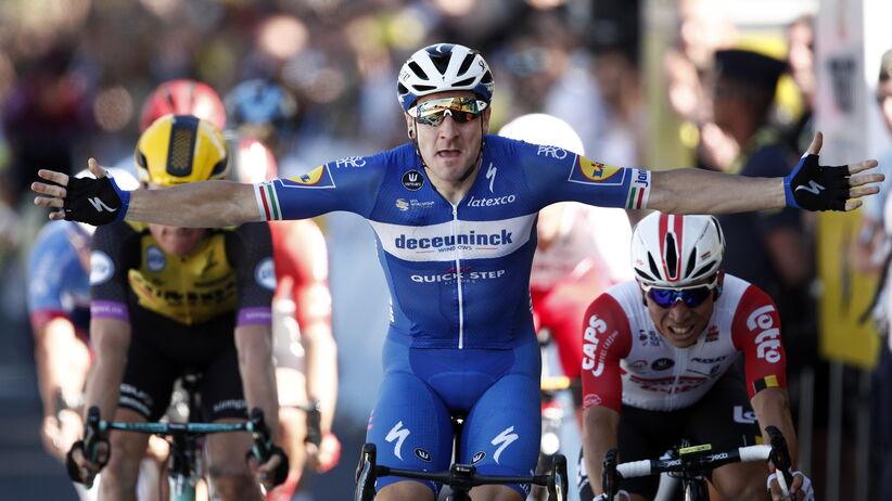 Tour de France, Viviani wygrywa 4. etap