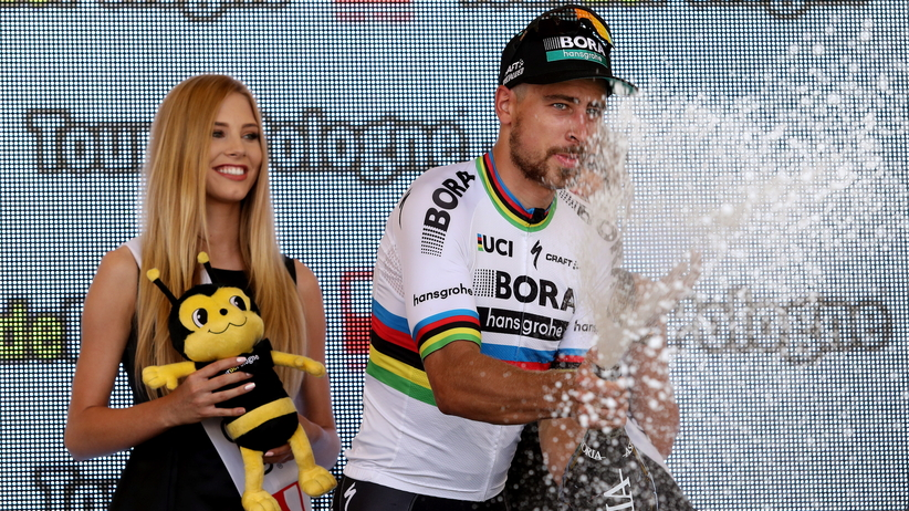 Tour de Pologne 2017: Peter Sagan wygrał pierwszy etap