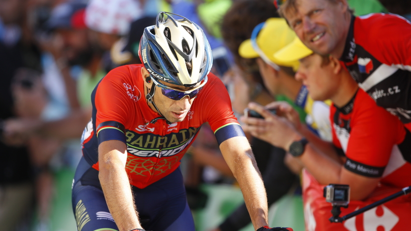 Vincenzo Nibali wycofał się z TdF 2018