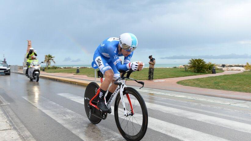 Michał Kwiatkowski drugi na 1. etapie